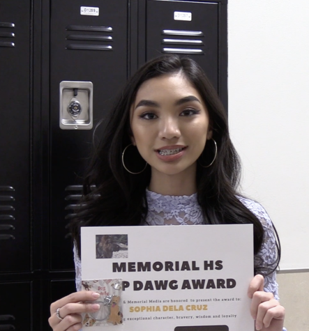 February's Top Dawg; Congratulations Sophia Dela Cruz