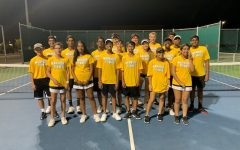 Warrior JV Tennis defeats the Redhawks