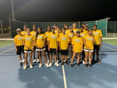 Warrior JV Tennis defeats the Redhawks