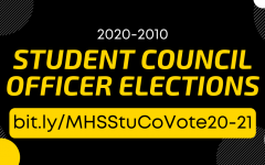 MHS Student Council Voting Today, May 15th