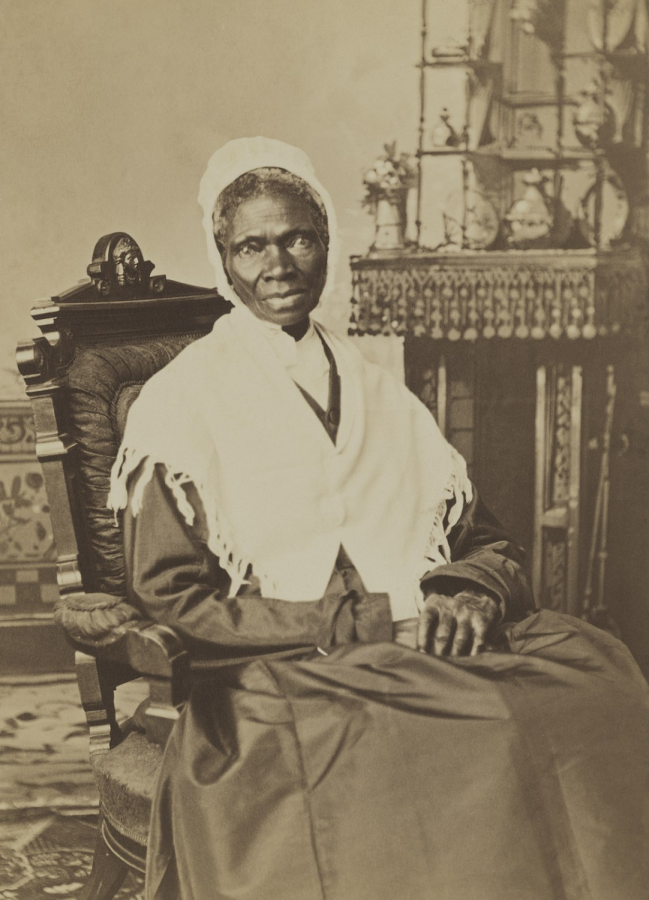 Sojourner Truth, the abolitionist and activist