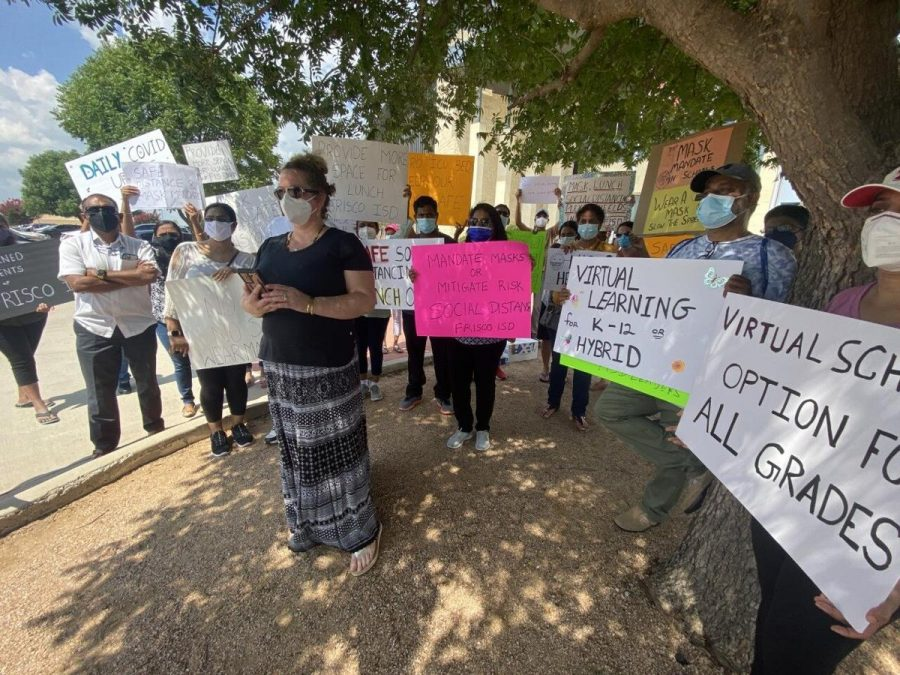 Frisco Parents demand 3 things: Masks ,distancing and virtual option for 7-12th grade