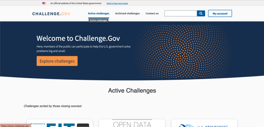 Solve government challenges for prize money